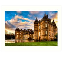 Deceptive Beauty - Holyrood Palace in Edinburgh Art Print