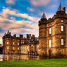 Deceptive Beauty - Holyrood Palace in Edinburgh by Mark Tisdale
