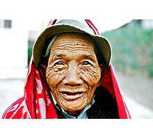 Tengger Face 92 Photographic Print