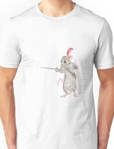Narnia Reepicheep, the bravest of mice Unisex T-Shirt