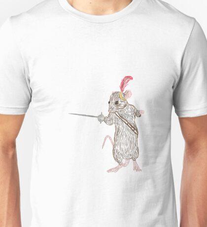 Narnia Reepicheep, the bravest of mice Unisex T-Shirt