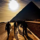 Footsteps of the Ancients - The Great Pyramid by Mark Tisdale