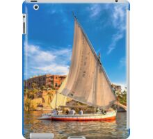 Grace - Sailing on the Nile at Aswan iPad Case/Skin