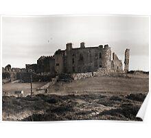 Crumbling Connemara Ruin Poster