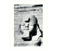The Things I've Seen - Statue of Ramses The Great Art Print
