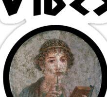 Sapphic Vibes Sticker