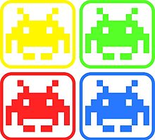 Geek Invaders  by extracom