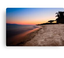 Red Sea Sunset - Egyptian Sinai Landscape Canvas Print