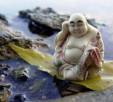 River Buddha by Jefferson C Hunt