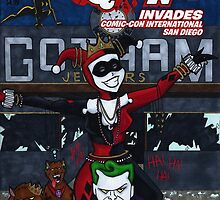 Harley Quinn #1 Variation Cover by Cat Vickers-Claesens