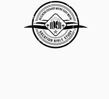 Unbreakable Kimmy Schmidt - Richard Wayne Gary Wayne Vacation Bible Study Black on White T-Shirt