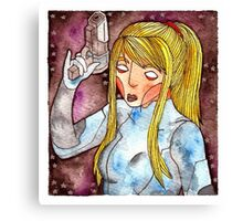 Videogame Babes #3 Canvas Print