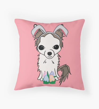 Rue Bunny Throw Pillow