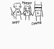 Daddy Mommy Chappie Unisex T-Shirt