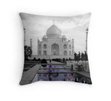 The Taj Suitors Throw Pillow