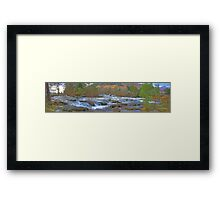 Falls of Dochart Panorama Framed Print
