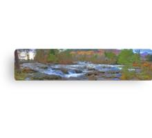 Falls of Dochart Panorama Canvas Print