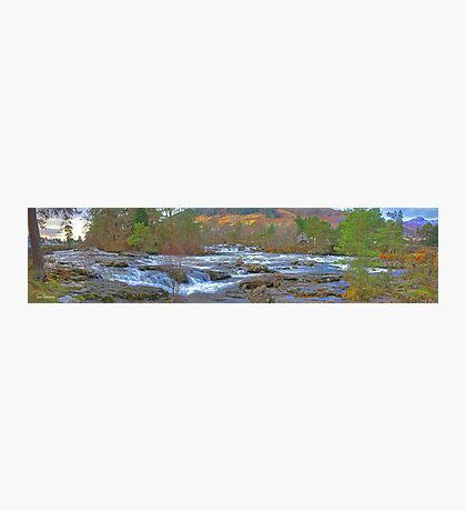 Falls of Dochart Panorama Photographic Print