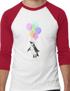 I can believe I can fly Men's Baseball ¾ T-Shirt