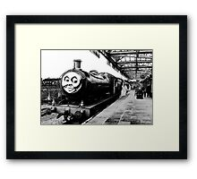 Douglas, The Steam Engine Framed Print
