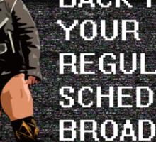 Solomon Crowe Scheduled Broadcast Sticker