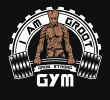 I Am Groot Guardians Of The Galaxy Gym Bodybuilding Mashup by NibiruHybrid
