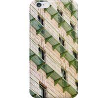 Green Balconies iPhone Case/Skin