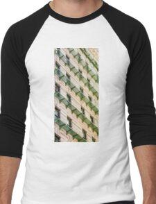 Green Balconies Men's Baseball ¾ T-Shirt