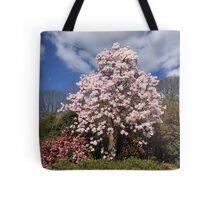 Spring Magnolia Tree Tote Bag