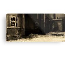 Cement Alley Metal Print