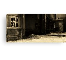 Cement Alley Canvas Print