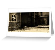 Cement Alley Greeting Card