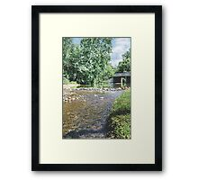 Neosho Country Creek Framed Print