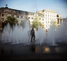 Piccadilly Gardens by jeandorsia