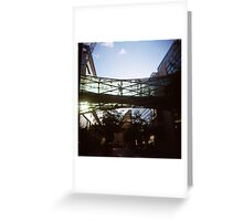 Corporation Street Bridge Greeting Card