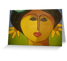 Domenican Art Greeting Card