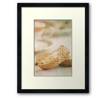 Still Life Of Italian Almond Cookies Framed Print