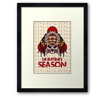 Hunting Season Framed Print