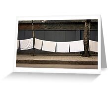 drying  out ! Greeting Card