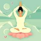 Sacred World: Yogini by Jenny Lloyd