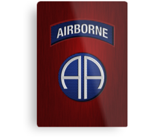 Android Airborne Patch Metal Print