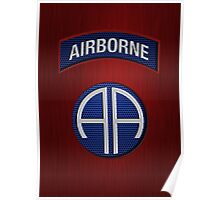 Android Airborne Patch Poster