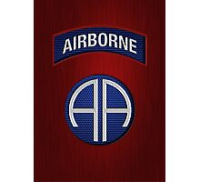 Android Airborne Patch Photographic Print