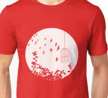 Flying Free 2 Large Unisex T-Shirt