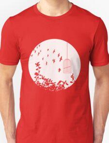 Flying Free 2 Large T-Shirt