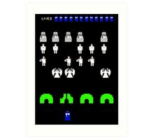 Space Invaders | Doctor Who Art Print