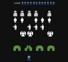 Space Invaders | Doctor Who by mrkyleyeomans