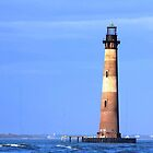 Morris Island Lighthouse by Darlene Lankford Honeycutt