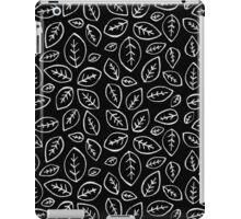 Hojas black version iPad Case/Skin