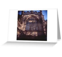 Manchester Cathedral Greeting Card